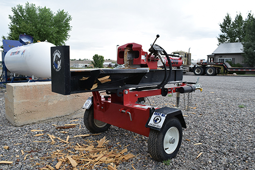 30 Ton Log Splitter