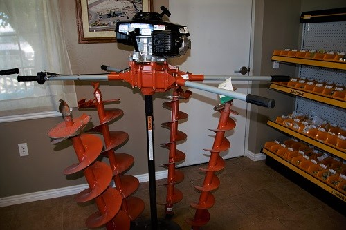 Two Man Auger Equipment Rental