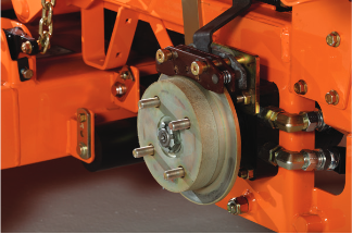 Turf Tiger II Disc Brake System