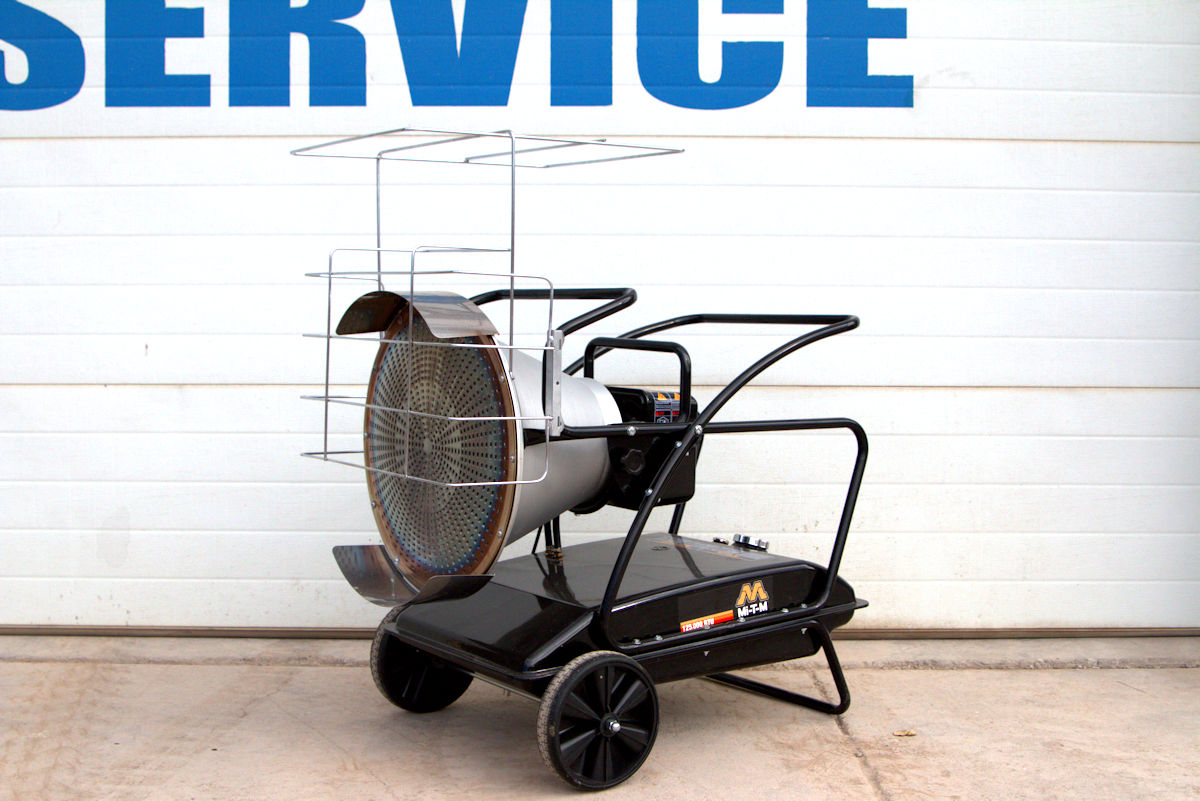 portable radiant heater for rent in montrose, co